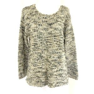 J Jill Womens Sweater Chunky Knit Cozy Beige